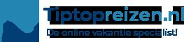 Vakantie boeken tegen de beste prijzen doe je bij Tiptopreizen.nl Logo